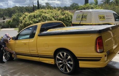 Chamois Dry Car