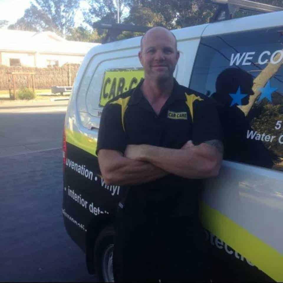 Ashley Marshal at Car Care in Lake Macquarie